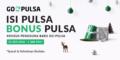 Cara Dapat Bonus Pulsa Dari GO-PULSA